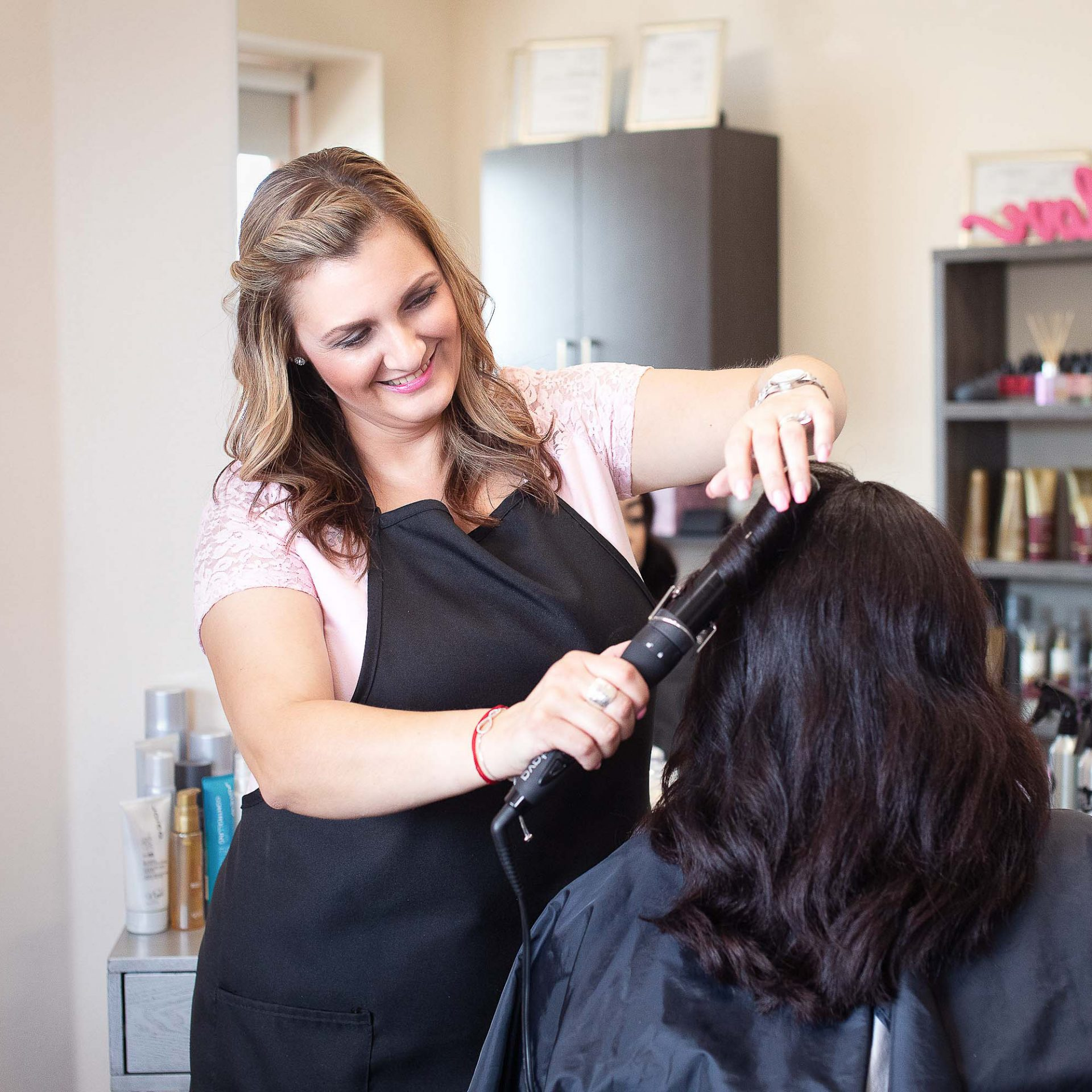 Salon Stylist Personal Brand Photography